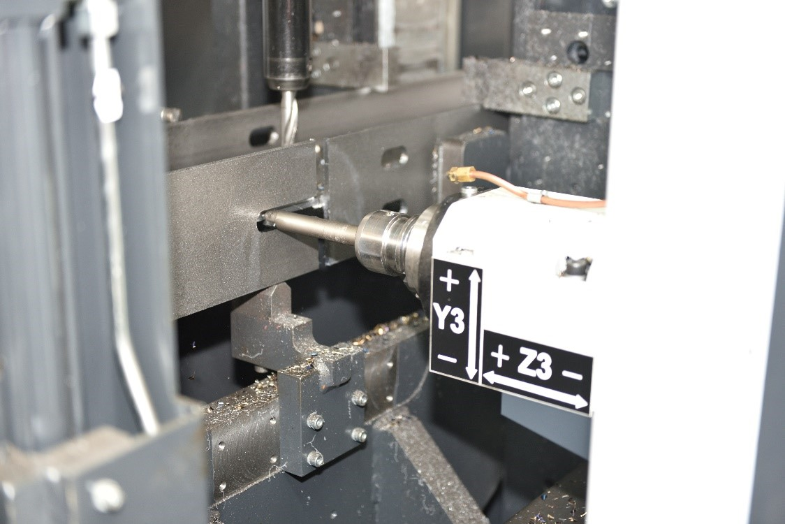 Increased cutting and drilling capacity