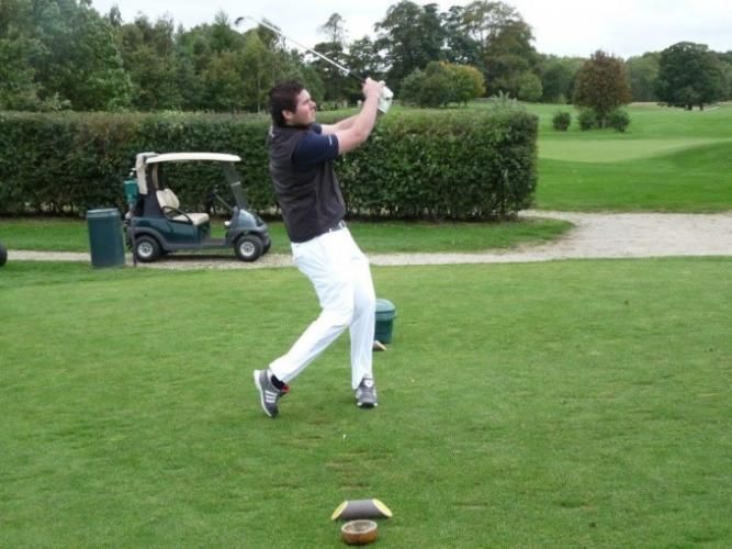 40th Anniversary Golf Day Goes With A Swing!