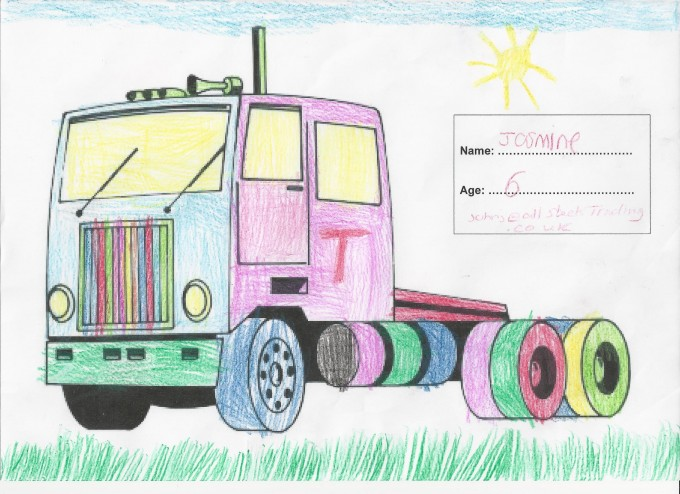 Tomrods Anniversary Colouring Competition Winners