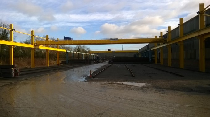 Tomrods Extends its Outside Gantry Storage Capacity
