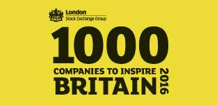 London Stock Exchange Group's 1000 Companies to Inspire Britain 2016